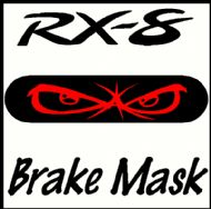 MAZDA RX-8 NO FEAR BRAKE MASK DECAL